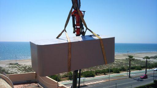 Depósito rectangular agua potable