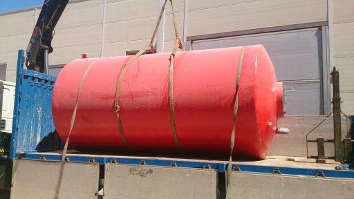 Depósito agua contra incendios