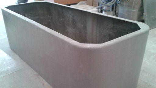 Depósito rectangular productos químicos