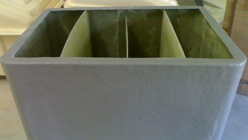 Depósito con separadores
