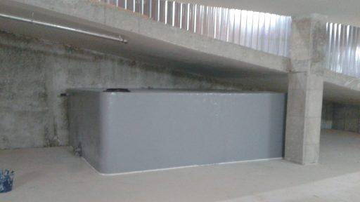 Depósito fabricado in situ