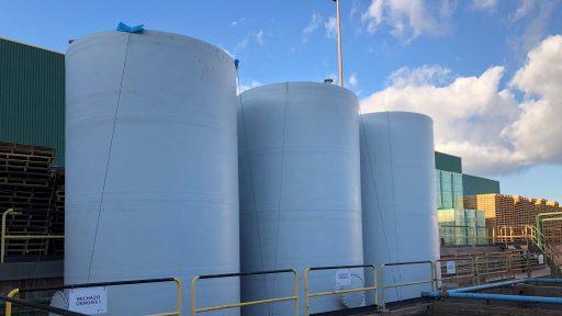 Depósitos verticales agua