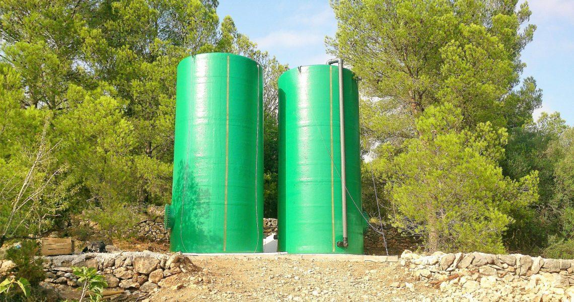 Depósitos agua